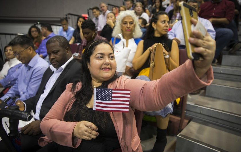 As Trump seeks reelection, immigrant voters stand in his path